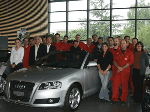 garage jean krucker audi collonge bellerive